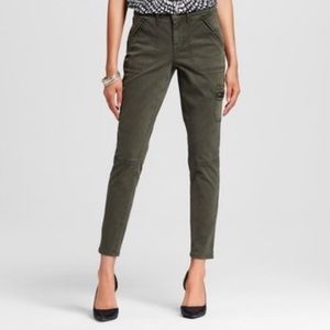 Mossimo | Hunter Green Mid Rose Jegging